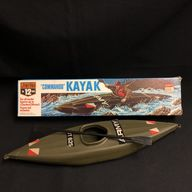 VINTAGE ACTION MAN - CHERILEA - COMMANDO KAYAK